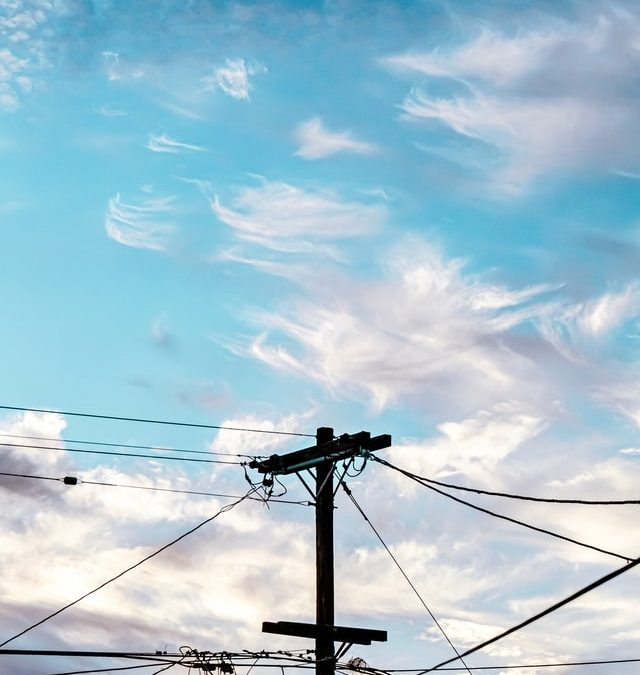 Telephone Pole and Wires